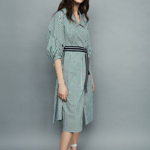 Understructured striped dress : Vestidos color Rayas