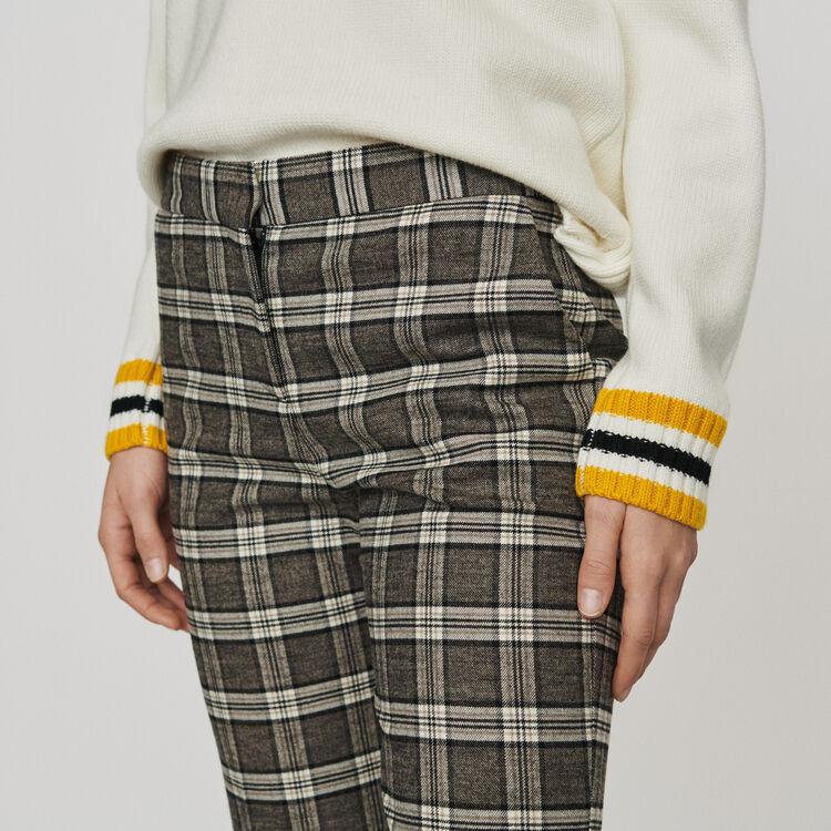 Pantalón de cuadros : Pantalones color CARREAUX