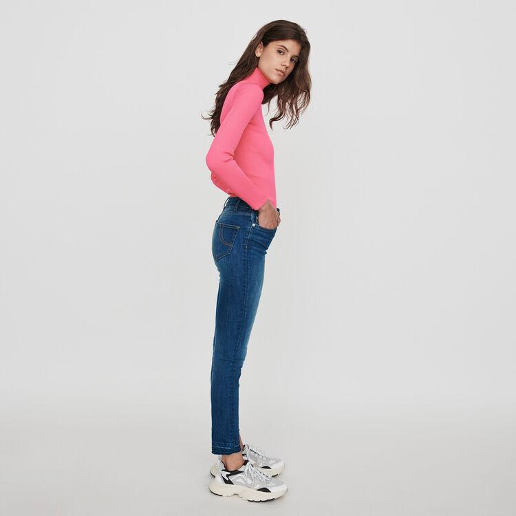 Jean slim básico : Pantalones y Jeans color Azul