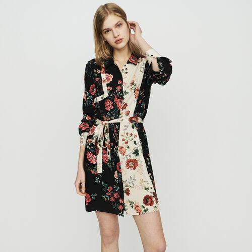 Robe-chemise à imprimé floral : Vestidos color IMPRIME