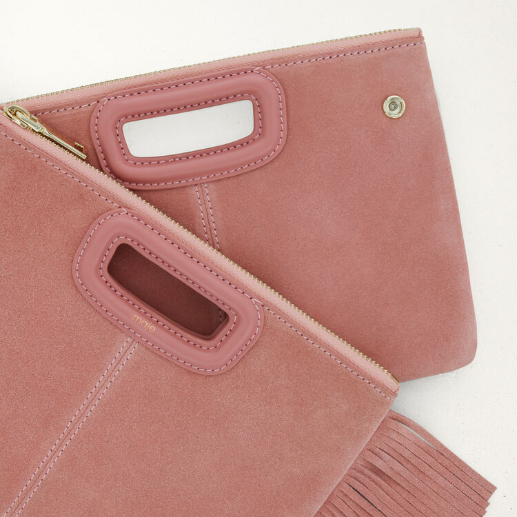 Cartera M Duo de gamuza : M Duo color Rosa