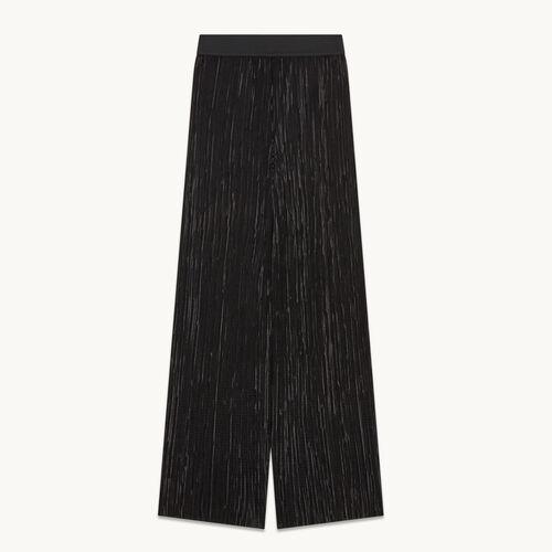 Pantalón plisado reversible - null - MAJE