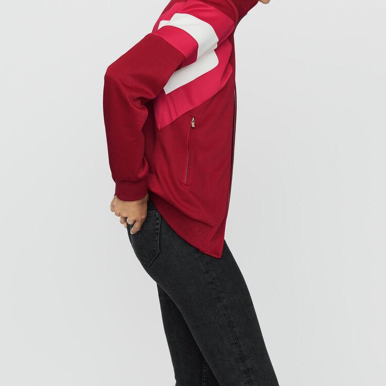 Cazadora deportiva : Chaquetas color Frambuesa
