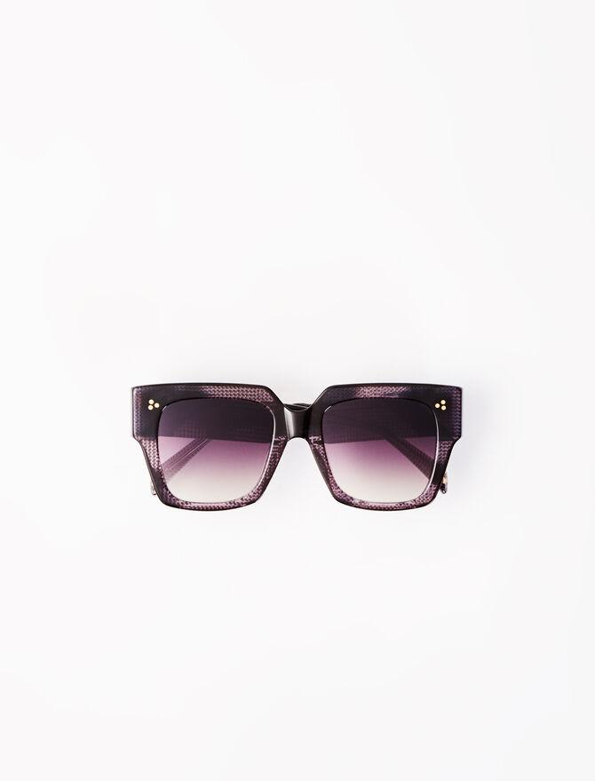 Gafas de sol cuadradas marrones -  - MAJE