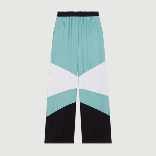 Pantalón ancho multicolor : Urban color Multicolor