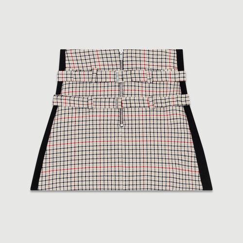 Short trompe -l'oeil de cuadros : Faldas y shorts color CARREAUX