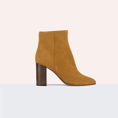 Botín de ante - Zapatos - MAJE