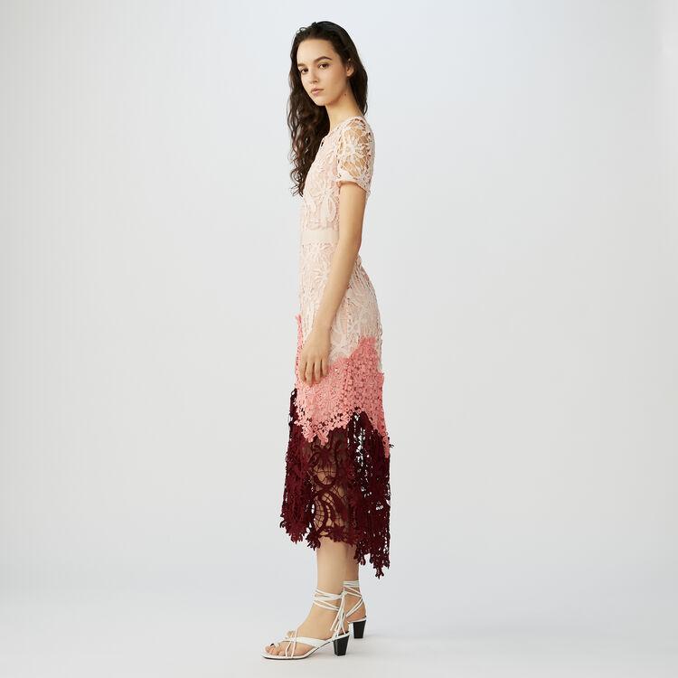 Vestido largo en tejido técnico : Vestidos color Multicolor