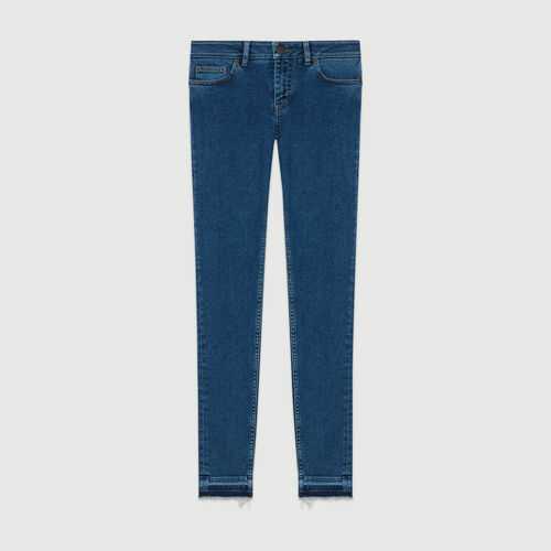 Vaquero skinny de denim : Jeans color Denim