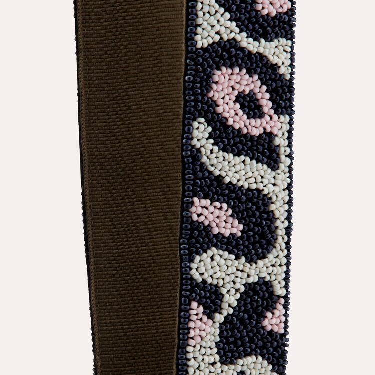 Bandolera de bolso con perlas : Bandoleras color Multicolor