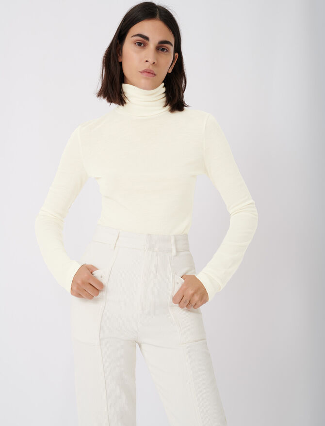 Camiseta bajo el suéter - T-Shirts - MAJE