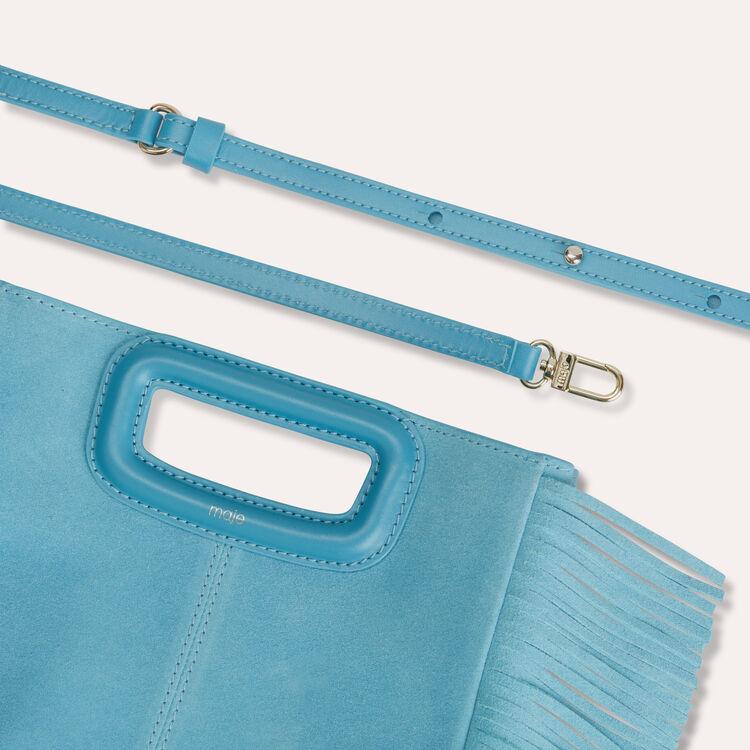 Bolso M de gamuza : Bolsos M color Azul