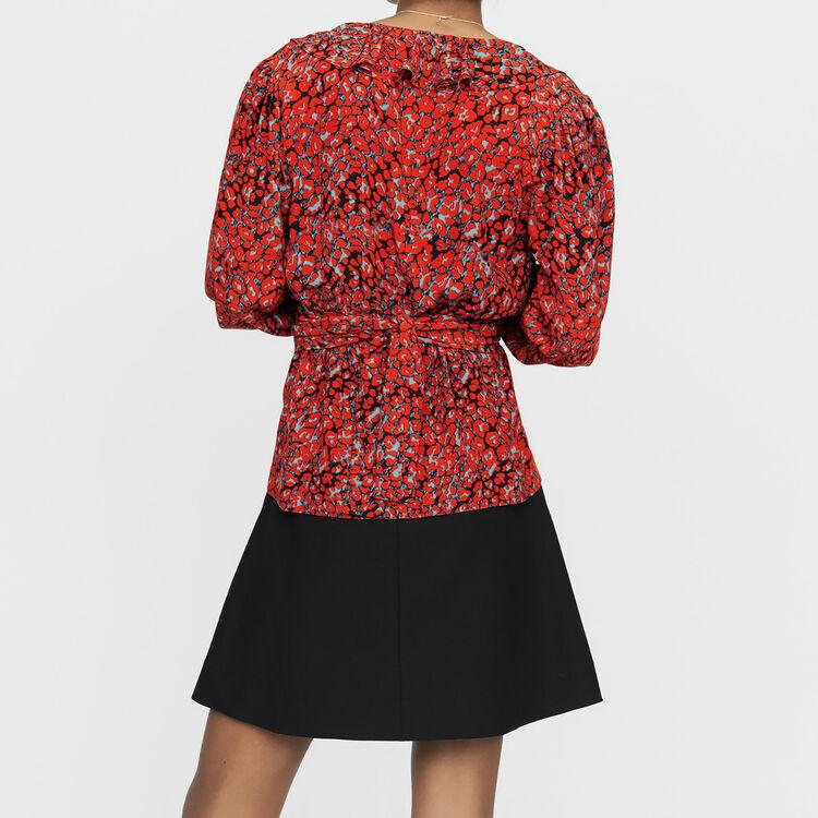 Blusa estampado leopardo : Tops color IMPRIME