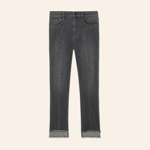 Vaquero con largo asimétrico - Jeans - MAJE