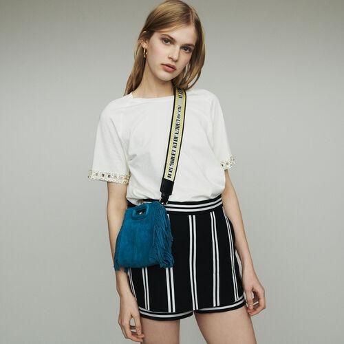 Trompe-l'oeil pantalones a rayas : Faldas y shorts color Rayas