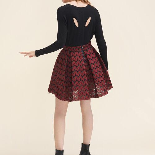Jersey fino de mezcla de lana : Jerseys y cárdigans color Crudo