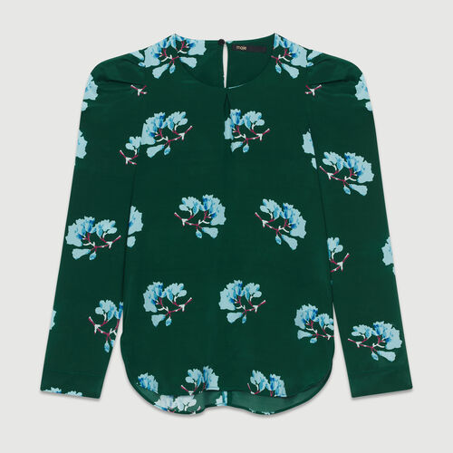 Blusa estampada floral : Tops color IMPRIME
