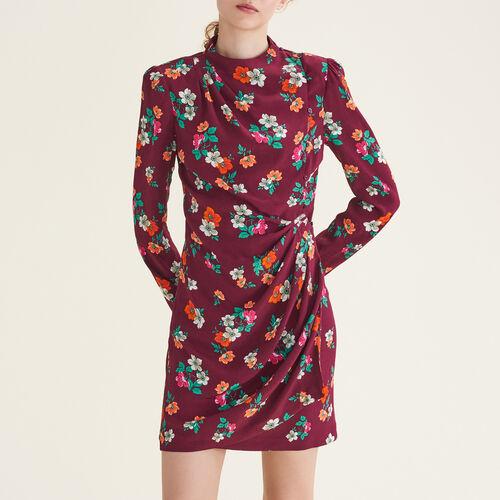 Vestido cruzado estampado : Vestidos color Estampado