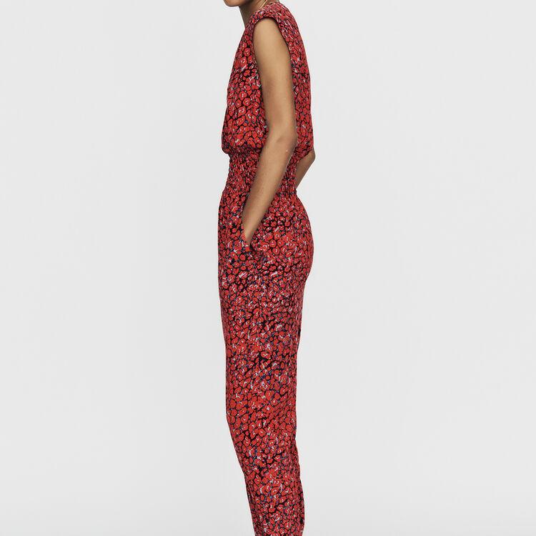 Mono-pantalón sin mangas estampado : Nueva colección color IMPRIME