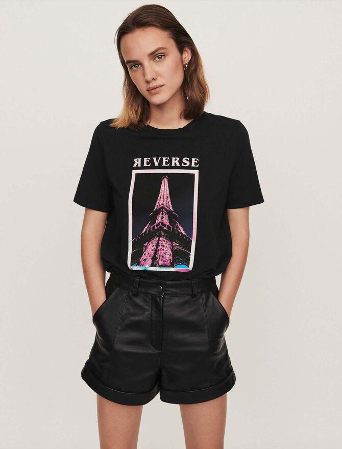 Camiseta decorada - T-Shirts - MAJE