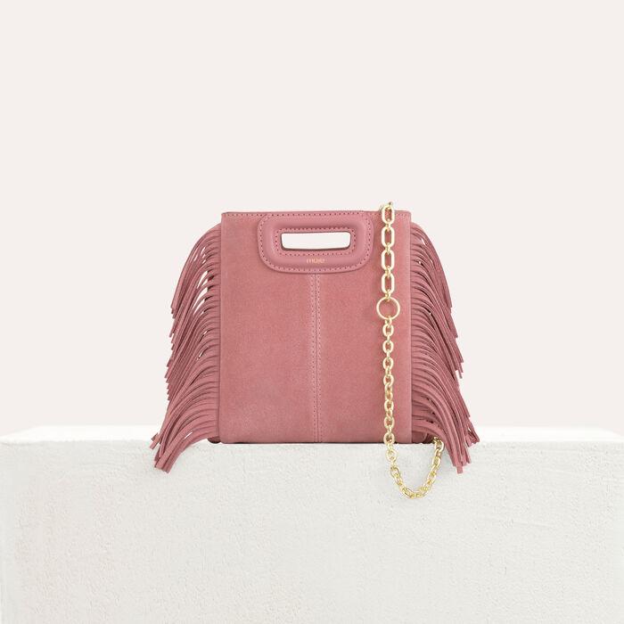 Mini bolso M de cuero de cordero : M Mini color Rosa