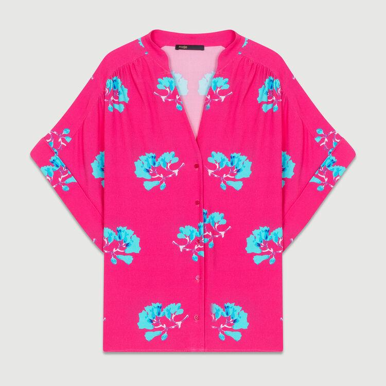 Blusa oversize estampada : Camisas color IMPRIME