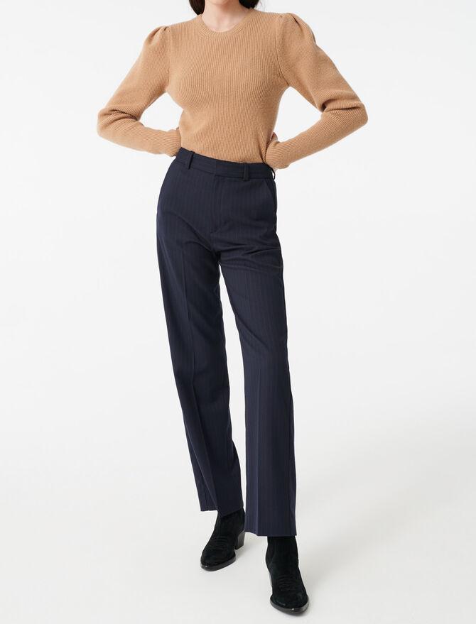 Jersey de lana mangas globo - Midseason-Sales_UK_30% - MAJE