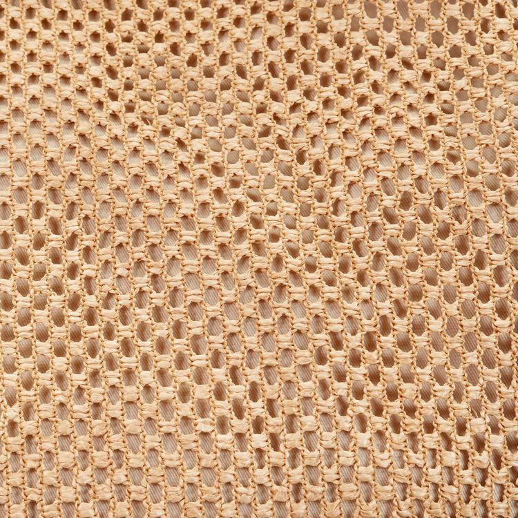 Cesto de rafia y cuero : -40% color NATURELS