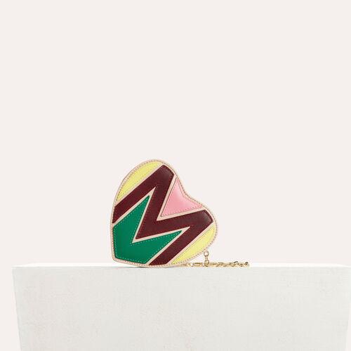 Bolso alforja de corazón : Bolsos Star color Multicolor