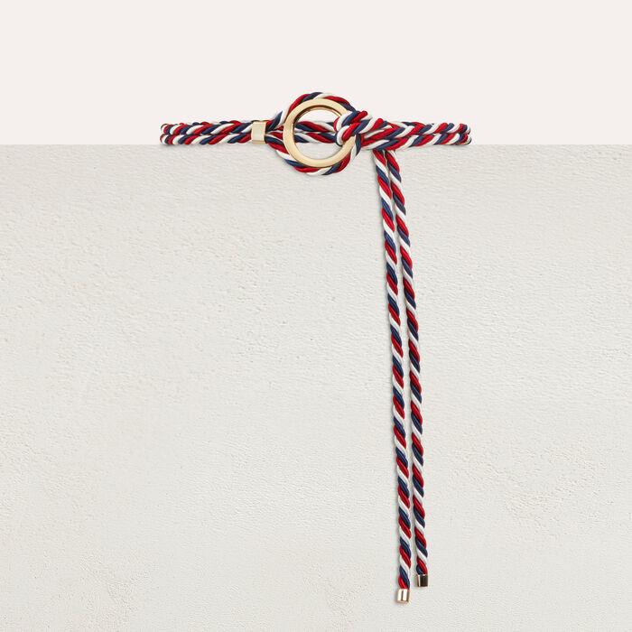 Cinturón cordón de Lurex : Cinturones color Multicolor