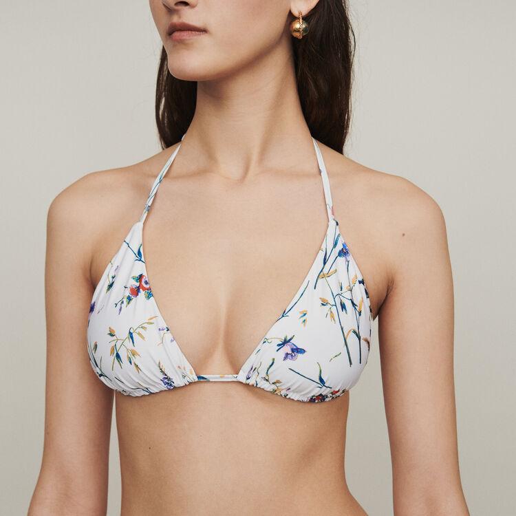 Traje de baño dos piezas triangulo : Beachwear color IMPRIME