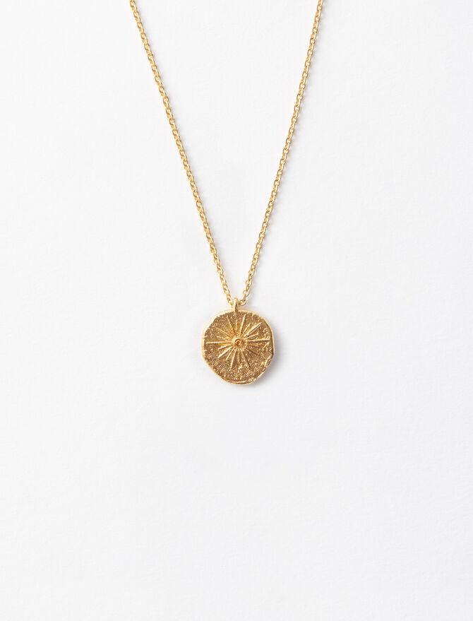 Collar Mon Soleil chapado en oro -  - MAJE