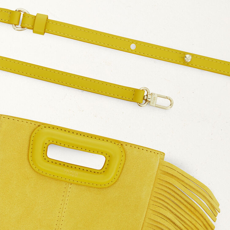 Mini bolso M de cuero de cordero : M Mini color Amarillo