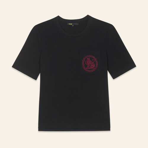 Camiseta de algodón - T-Shirts - MAJE
