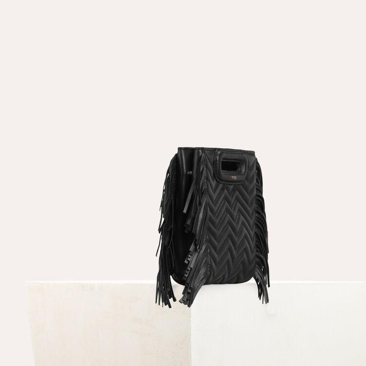 Bolso M Mini de cuero acolchado : M Mini color Negro