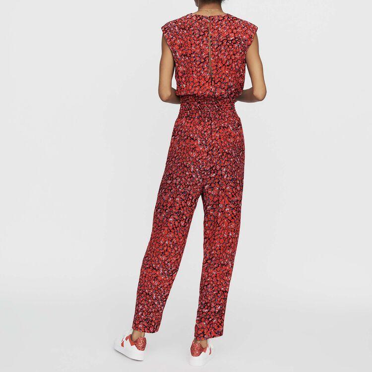 Mono-pantalón sin mangas estampado : Prêt-à-porter color IMPRIME