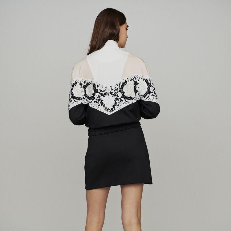Sudadera con cremallera : Jerseys y cárdigans color IMPRIME
