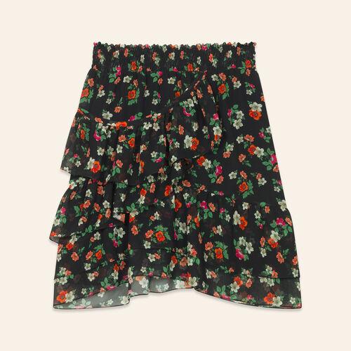 Bedruckter Rock : Faldas y shorts color Estampado