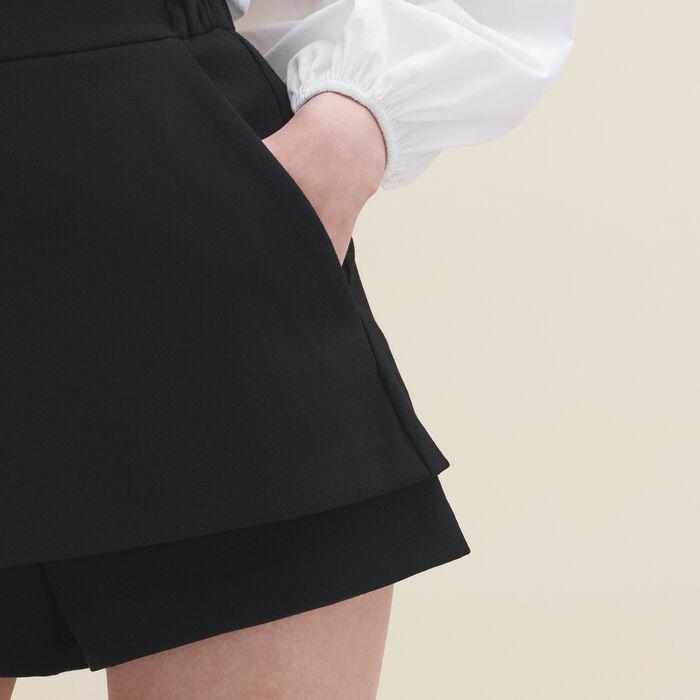 Short 2 en 1 - Faldas y shorts - MAJE