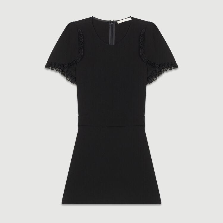 Monoshort de punto : Faldas y shorts color Negro