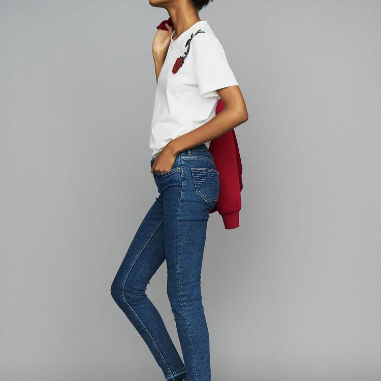 Vaquero skinny de denim : Jeans color Denim