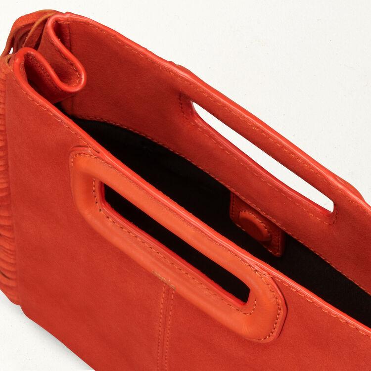 Bolso M de ante : Bolsos M color Naranja