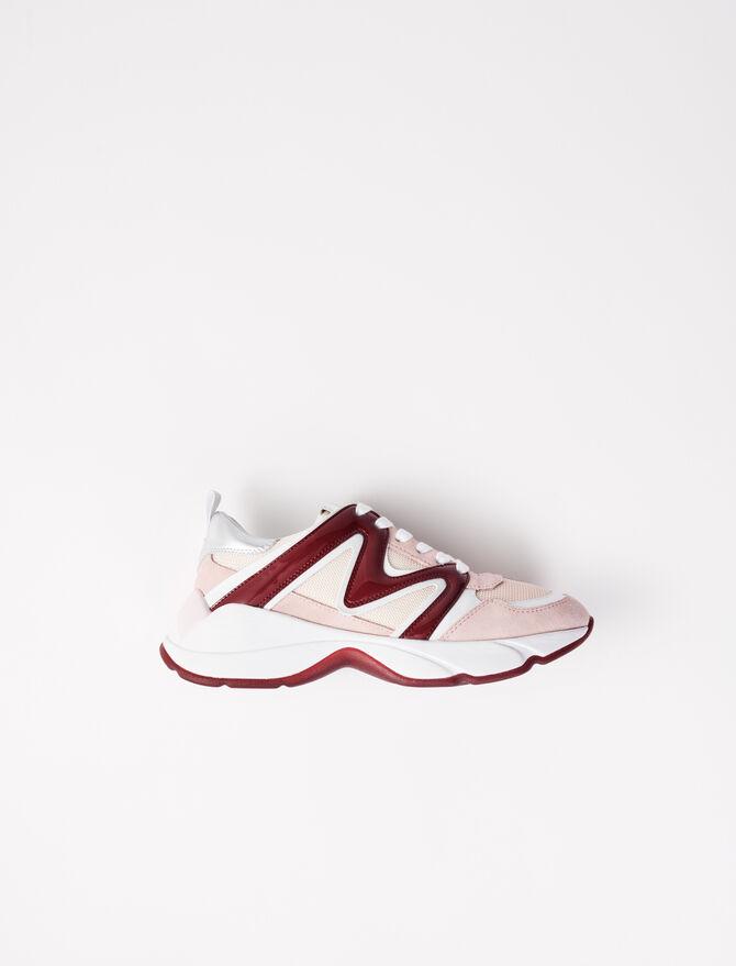 Zapatillas W20 de cuero - Sneakers - MAJE