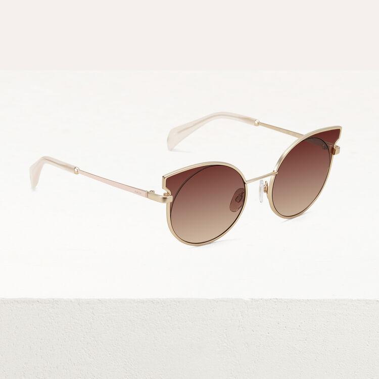 Gafas de sol cat eye : Gafas color Rosa