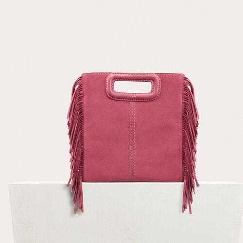 Bolso M de ante : -50% color Rosa