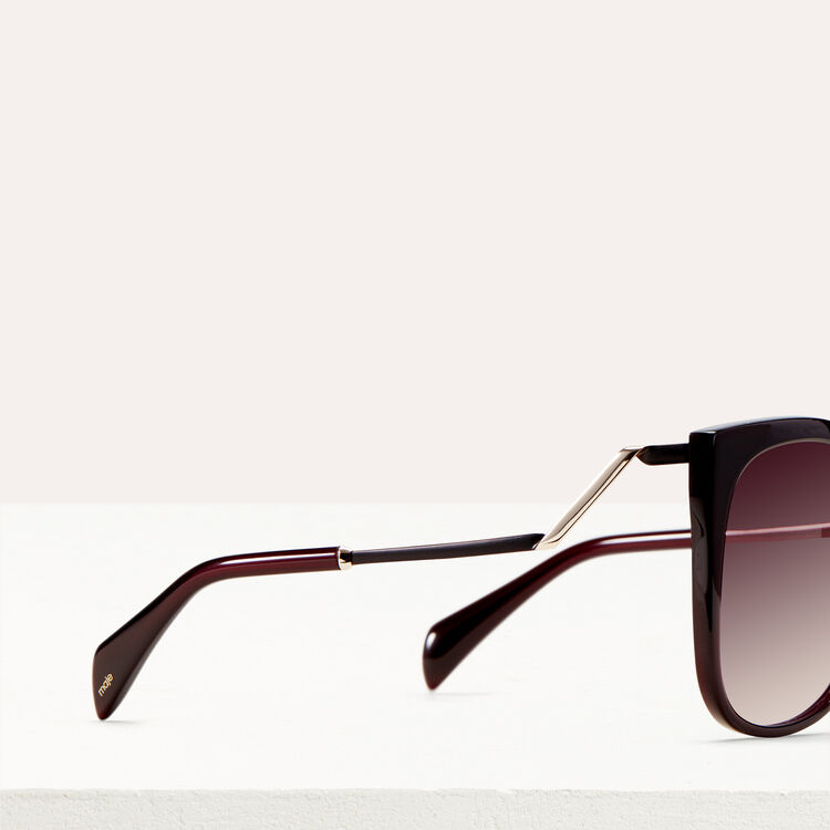 Gafas de sol retro : See all color Burdeos
