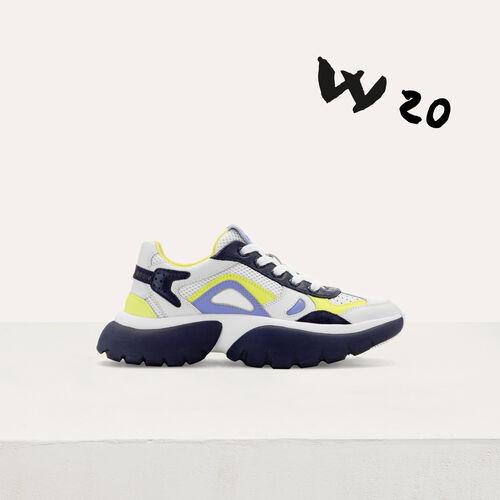 Zapatillas deportivas W20 : Sneakers color Azul