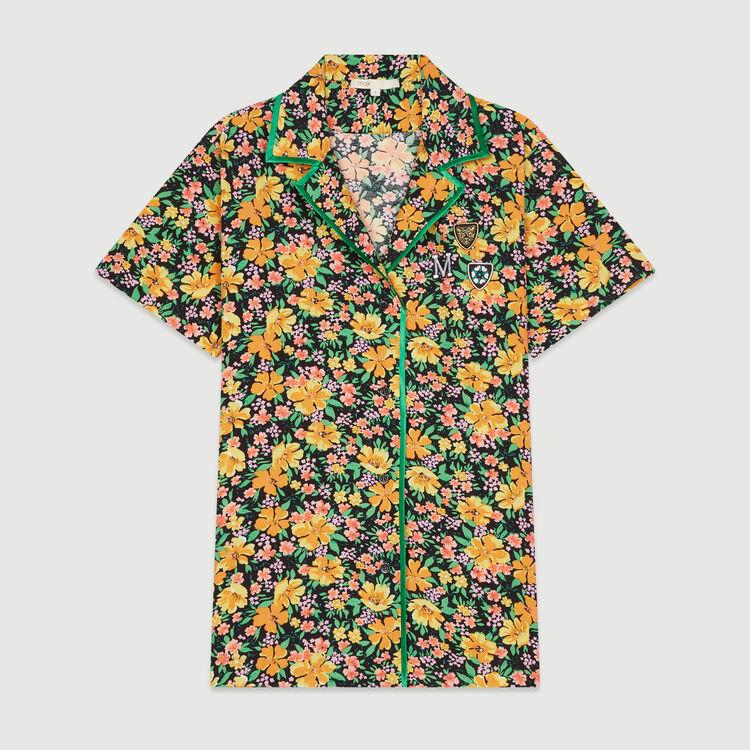 Blusa estampada tipo pitón : Tops y Camisas color Estampado