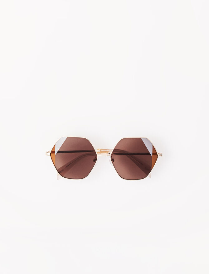 Gafas de sol setenteras de acetato -  - MAJE