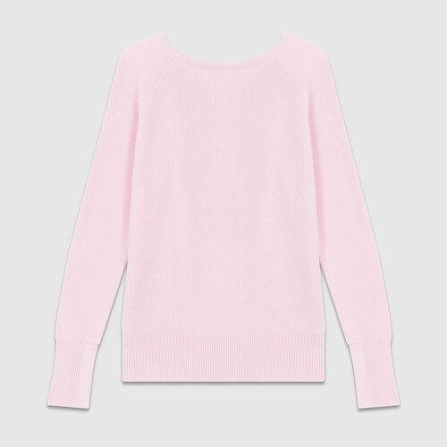 Jersey escotado en la esplada : Malla color LILA